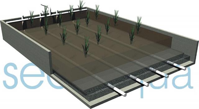 Humedal lodos 3D